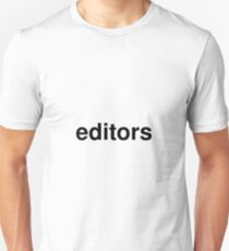 editors Unisex T-Shirt