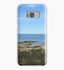 View Of Puffin Island Samsung Galaxy Case/Skin