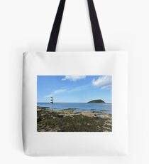 View Of Puffin Island Tote Bag