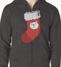 Ice Bear Zipped Hoodie