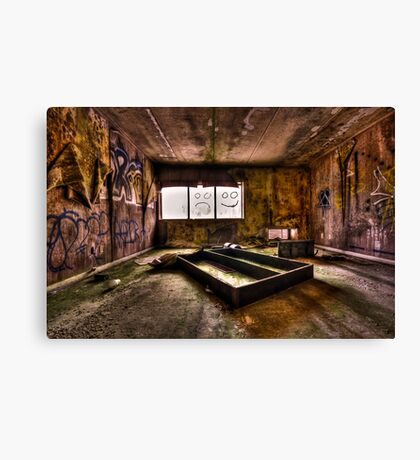 End of Humanity Canvas Print