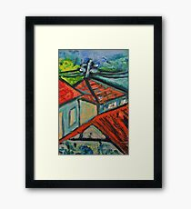 Our Neighbourhood 2 Framed Print