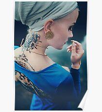Tattoo Women - Portrait Poster
