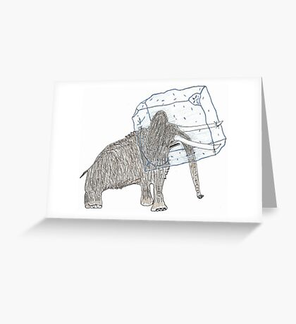 head cold Greeting Card