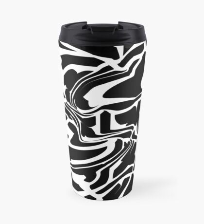 Halloween Nightmare (Abstract Pattern) Travel Mug