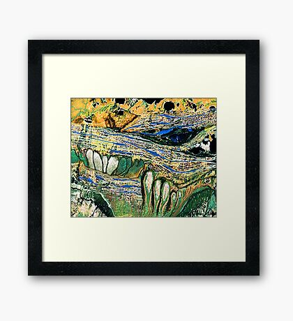 """Swiftly""  Framed Print"