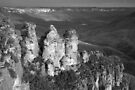 Three Sisters - Blue Mountains National Park by John Bullen