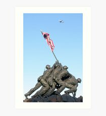 Iwo Jima Art Print