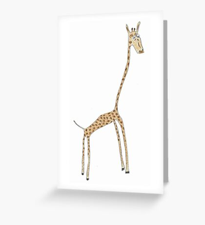 skinny Greeting Card