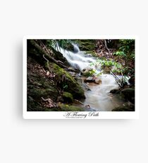 A Flowing Path Canvas Print