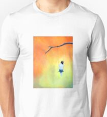 Her Heart Where I Dream (She comes To me She Let's Me See); pastels Unisex T-Shirt