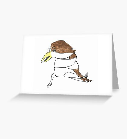 cuckoo Greeting Card