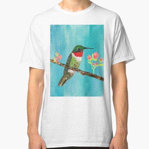 Sitting Hummingbird Classic T-Shirt