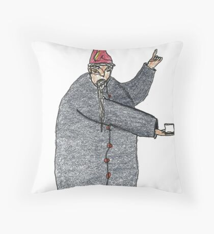 amaze the sage Throw Pillow