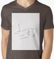 dthaase rebus Men's V-Neck T-Shirt