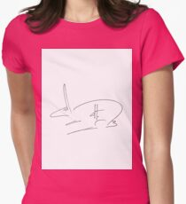 dthaase rebus Womens Fitted T-Shirt