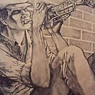 Blues Trumpet by Sally Sargent