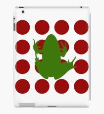 Simple Frog in the Bog iPad Case/Skin
