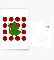 Simple Frog in the Bog Postcards