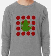 Simple Frog in the Bog Lightweight Sweatshirt