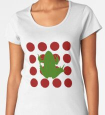Simple Frog in the Bog Premium Scoop T-Shirt