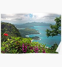 Grand Anse, Seychelles Poster