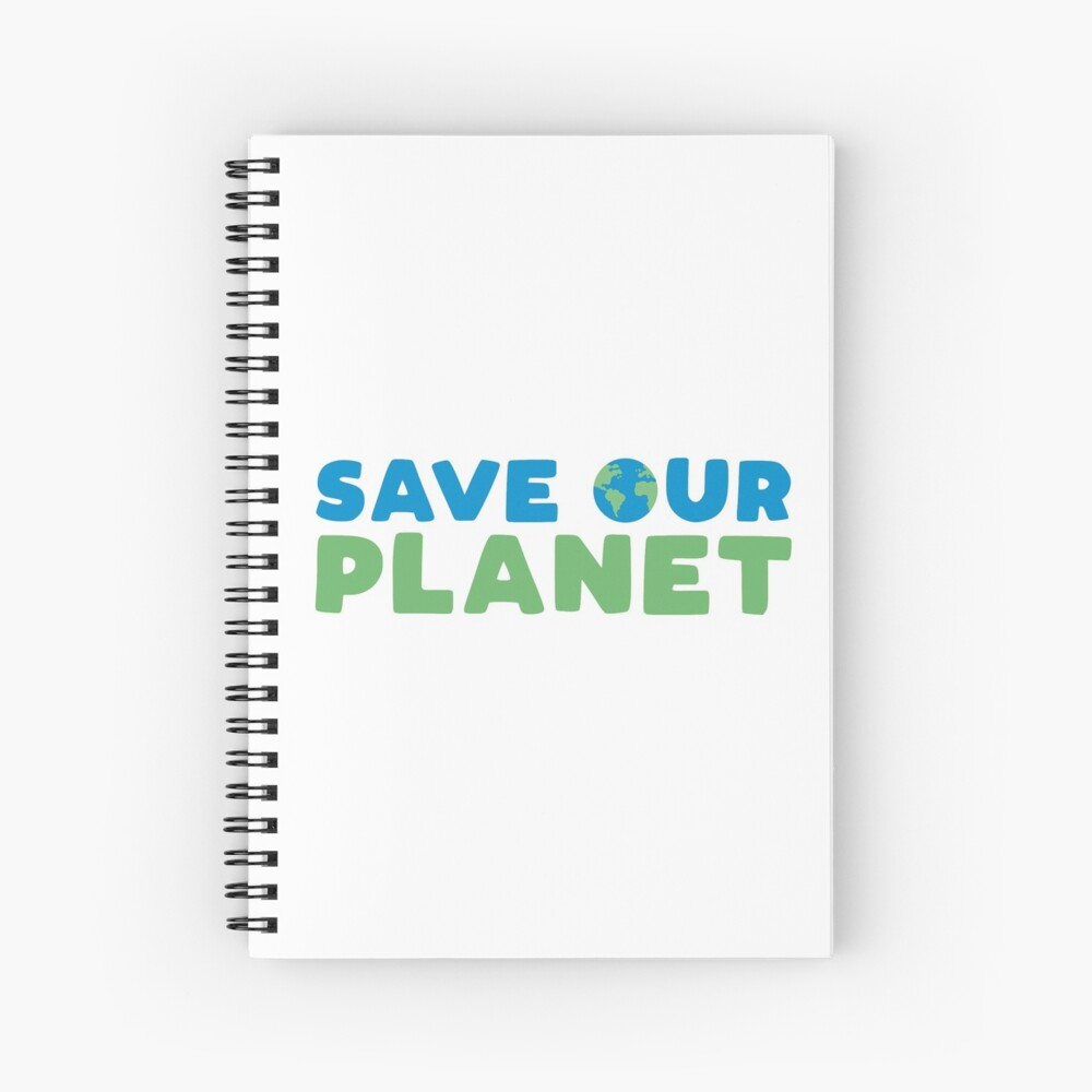 Save Our Planet Spiral Notebook