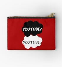 Youtube - TFIOS (red) Studio Pouch