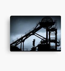 Woodhorn Colliery Headgear Canvas Print