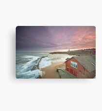 Cullercoats harbour Metal Print