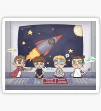 Space Station Excursion Sticker