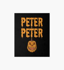 Peter Peter Pumpkin Eater Costume Art Board Print