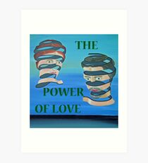 The Couple, THE POWER OF LOVE Art Print