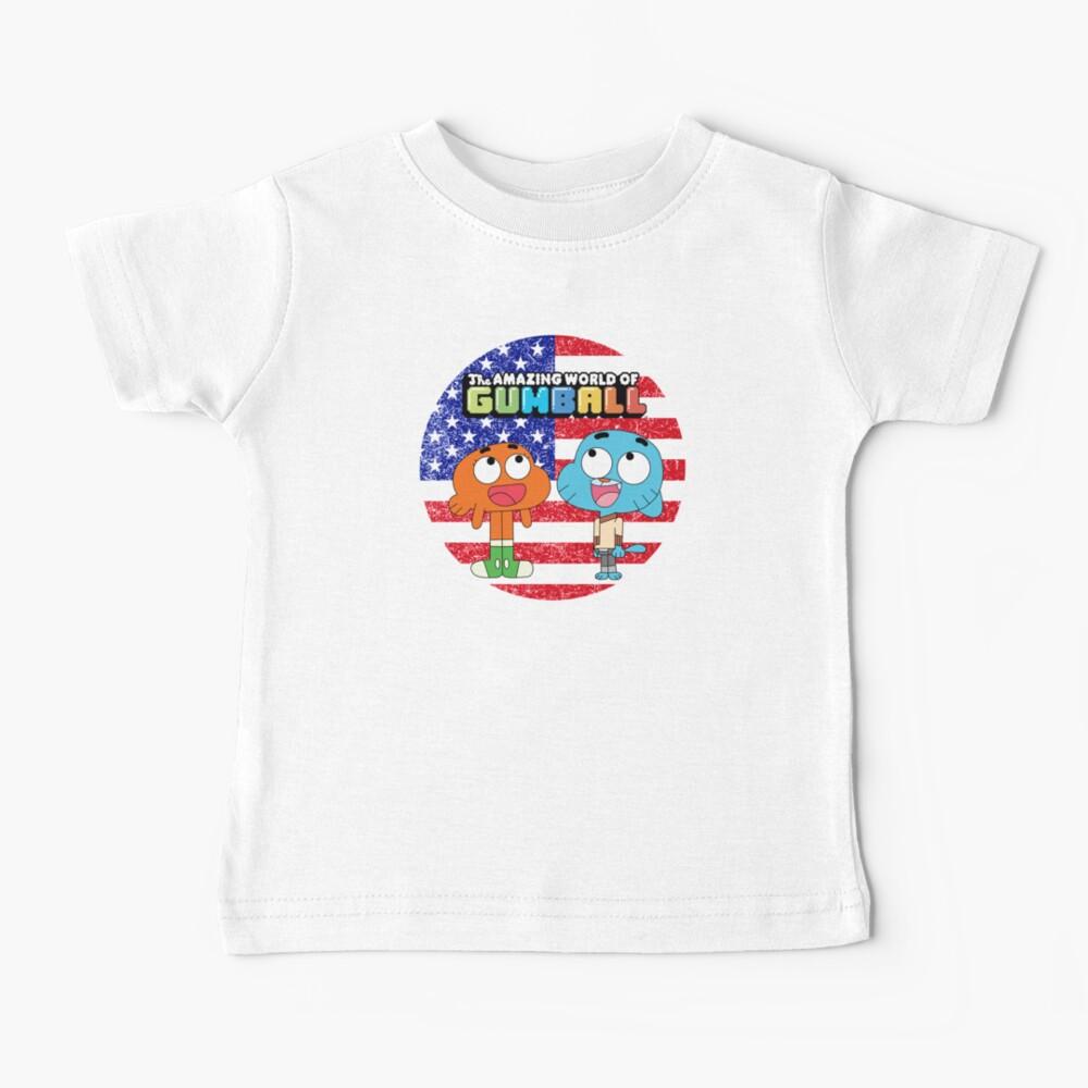 The amazing world of Gumball™, Gumball and Darwin Baby T-Shirt