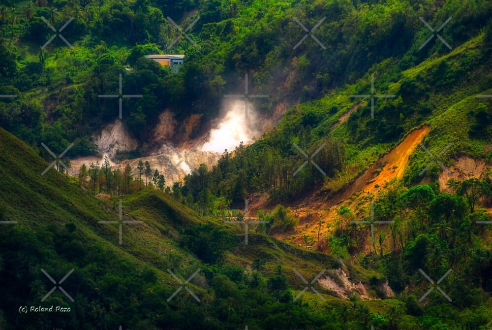 Saint Lucia Sulphur Springs by photorolandi