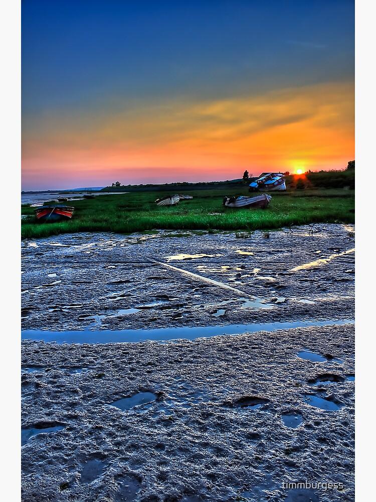 Sunset Two Tree Island by timmburgess