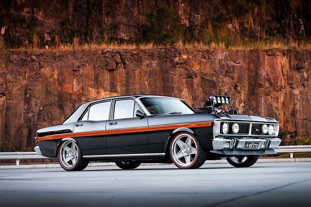 V Resto Garage 1971 Ford XY Falcon by HoskingInd