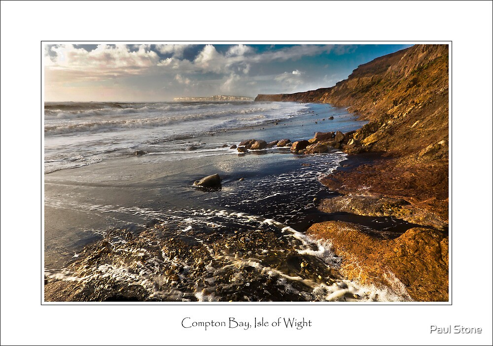Compton Bay, Isle of Wight by Paul Stone