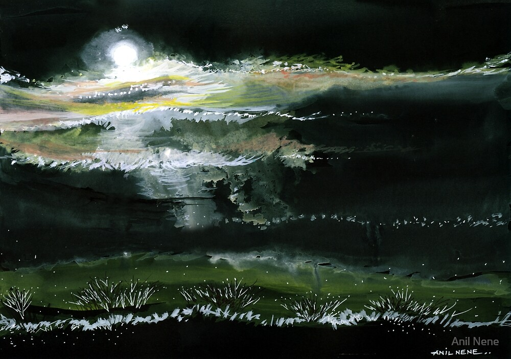 Moon N Light by Anil Nene