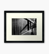Construction Time Again Framed Print