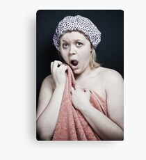 Just Out of The Shower Canvas Print