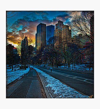 Manhattan Sunset Photographic Print