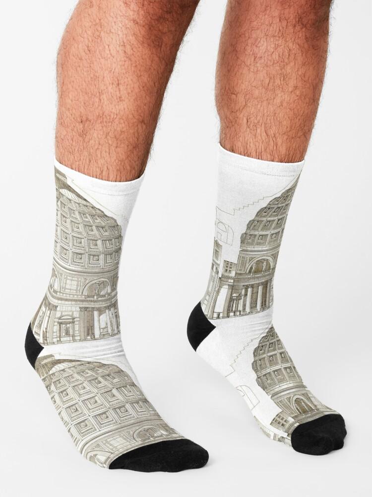 Alternate view of Pantheon of Rome Socks