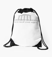 The Sarcasm Foundation Drawstring Bag