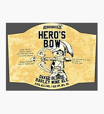 Smashed Bros. Hero's Bow Oaked Blonde Barley Wine Ale (#3) Photographic Print