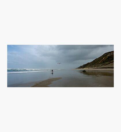 Home Sweet Home - Baylys Beach NZ Photographic Print