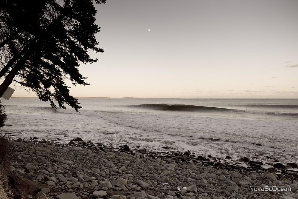 Lone Surfer by NovaScOcean