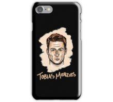 Tobias Menzies Portrait iPhone Case/Skin
