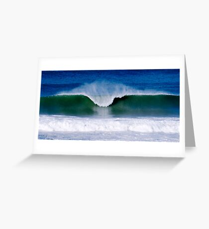 Surfs Up - Baylys Beach surf Greeting Card