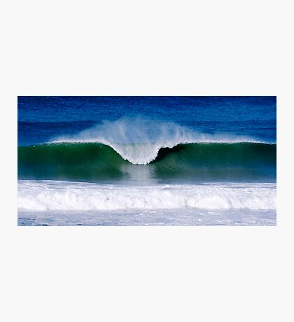 Surfs Up - Baylys Beach surf Photographic Print